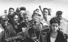Kid N Play. Salt and Pepa. Fresh Prince and Jazzy Jeff. Chuck and Flav. & Slick Rick The Ruler.  This is from where they all boycotted the Grammys for not televising the rap categories in 1989.