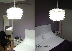 CasaCriando: DIY - Luminária Knappa IKEA