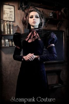 Limited Edition THE GOVERNESS 16x20 STEAMPUNK high quality signed poster - Victorian, Edwardian. $28.00, via Etsy.