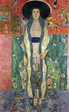 "Gustav Klimt, ""Portrait d'Adele Bloch-Bauer II"""