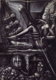 NECRONOM V.......BY H.R. GIGER.........SOURCE BING IMAGES............