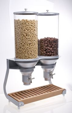 ACD400 Dry Food, Cereal, Coffee Bean Dispenser - IDM Dispenser Free standing) http://qecdistribution.com.au/dry-food-dispenser-idm-free-standing-acd400-ret/