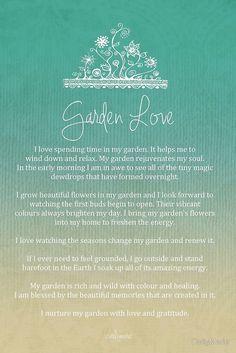 Affirmation - Garden Love by CarlyMarie