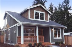 Small House Plan with Two Exterior Choices - 2395JD | Bungalow, Cottage, Northwest, Photo Gallery, 2nd Floor Master Suite, CAD Available, PDF, Narrow Lot | Architectural Designs