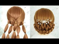 Step-by-step Hairstyles for Long Hair Bun Hairstyle for Wedding Step by Step Beautiful Hairstyle Prom Hairstyle Of 97 Wonderful Step-by-step Hairstyles for Long Hair 2020 Beautiful Hairstyle For Girl, Cute Little Girl Hairstyles, Beautiful Buns, Prom Hairstyles For Short Hair, Braided Bun Hairstyles, Wedding Guest Hairstyles, Party Hairstyles, Beautiful Hairstyles, New Bridal Hairstyle