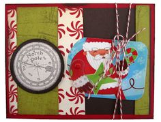 Christmas Time - North Pole Gift Card Holder