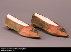Women's Slippers, 1790-1805 2001.0.113.111 The Henry Ford