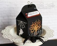 Halloween - Treats Box Stampin Up