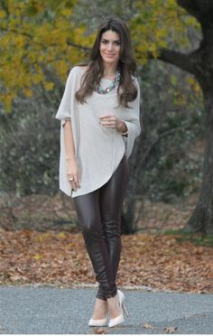 camila coelho Style Désinvolte Chic, Style Casual, Casual Chic, Casual Looks, Grey Fashion, Autumn Fashion, Womens Fashion, Sport Chic, Fall Outfits