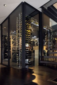 Agencement cave vin en Savoie, Loik Routin | Aménagement de cave à vins en Savoie
