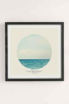 Tina Crespo Salt Water Cure Art Print