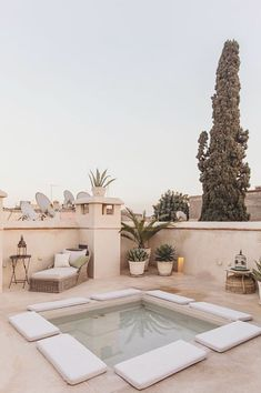 5 Beautiful Riads in Marrakech :: This Is Glamorous Riads In Marrakech, Medina Marrakech, Marrakesh, Cedar Door, Moroccan Furniture, Moroccan Art, Courtyard House, World Of Books