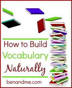 Learn how to build your children's vocabulary without artificial lists