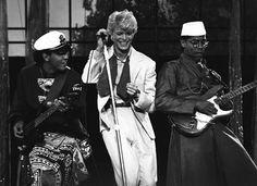 """David Bowie ,""""Serious Moonlight Tour"""", Circa 1983 🌙"""