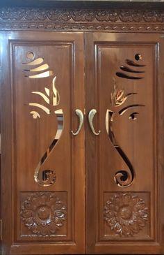 Front Door Design Wood, Wooden Main Door Design, Double Door Design, Kitchen Cupboard Designs, Kitchen Room Design, Home Room Design, Tv Unit Furniture Design, Bedroom Furniture Design, Pooja Room Door Design