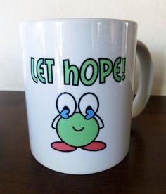 Let Faith Grow MugHope MugLet Hope Mug16 oz.White by JollieSweets