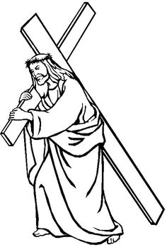 free coloring pages , coloring sheets , printable coloring pages Cross Coloring Page, Jesus Coloring Pages, Easter Coloring Pages, Coloring Pages To Print, Free Coloring Pages, Coloring Sheets, Printable Coloring, Jesus Christ Drawing, Jesus Drawings