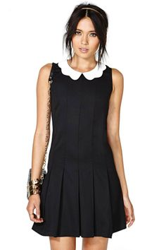 Nasty Gal  From Here to Wednesday Dress