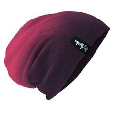 Slouch Beanie - Purple Hombre // Snowboarding inspired apparel