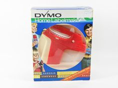 1972 Dymo Labelmaker  Orange Model 1800  No Tapes by AnkaasAttic
