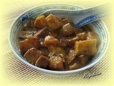 CURRY DE CALABAZA Y TOFU Dukan Diet Recipes, Recetas Light, Sweet Potato, Curry, Pork, Potatoes, Vegetables, Ethnic Recipes, Dukan Diet