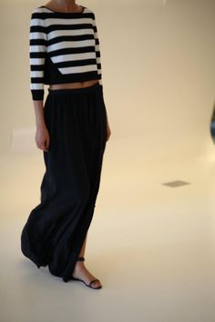 maxi and stripes maxi dress #anoukblokker #style for women