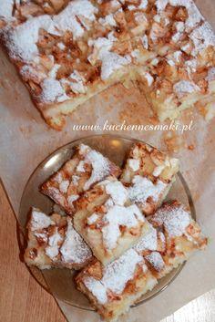 CIASTO MAŚLANKOWE Z JABŁKAMI I CYNAMONEM Fruit Cakes, Nutella, Camembert Cheese, Cooking Recipes, Pie, Baking, Food, Cookie, Kuchen