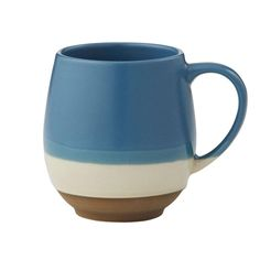 Constructed from stoneware. By Amalfi. Clever Design, Tea Mugs, Amalfi, Teal Blue, Contemporary Style, Stoneware, Dishwasher, Coffee, Tableware