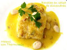 Bacalao en salsa de almendras [Thermomix]