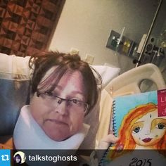 You go girl!!! Get well soon!!! #Repost @talkstoghosts ・・・#workbook2015 @leonie_dawson had spinal surgery, but still working on my new year!