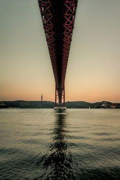"breathtakingdestinations:  ""  Lisbon - Portugal (by Luis Martins)  """