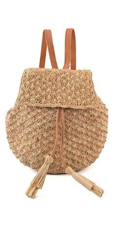 Mar Y Sol Zadie Crocheted Backpack #SummerOnMyRadar