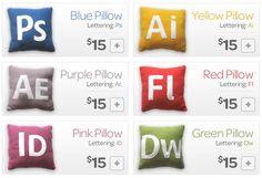 Adobe App Pillows