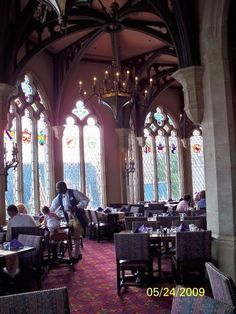 A must for every little princess~dine at the Royal Table inside Cinderella's Castle...Magic Kingdom, Orlando