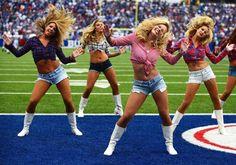 Have Buffalo bills cheerleaders can