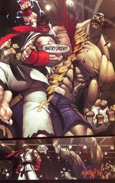 Joe Madureira - Street Fighter #1