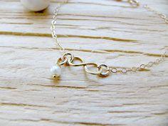 Child Infinity Bracelet With Pearl,Tiny Infinity Bracelet,14k Gold Filled Girls Infinity Bracelet,,Pearl,Girls Bracelet,Infinity Jewelry by LetItBeLove on Etsy