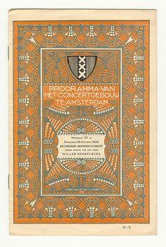 Programma Concertgebouw Amsterdam, Theo Neuhuys 1906