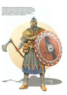 варяжский гвардеец 11 век