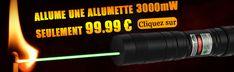 Acheter le pointeur laser vert 3000mW surpuissant pour des études scientifiques...3000mW stylo laser puissant peut tout vous satisfaire aux prix bas avec qualité fiable.