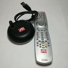 Working ATi Remote Wonder II P/N 5000024400 And The Receiver RC13747002/00RF #ATi Mouse Pointers, Consumer Electronics, Remote, Mice, Computers, Usb, Ebay, Computer Mouse