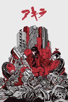 """Dan Sherratt's """"Akira"""" Art Print"""