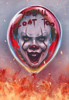 "IT, ""You'll Float Too!"", By TheLionessOfTheNight"
