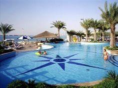 Big swimming pool might be the trick? - Hilton Corniche Residence Hotel Abu Dhabi