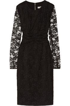 Burberry London|Lace dress|NET-A-PORTER.COM
