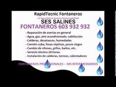 Fontaneros SES SALINES 603 932 932 Plumbers