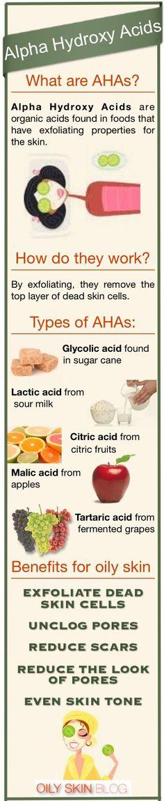 Alpha Hydroxy Acids - not a nasty chemical