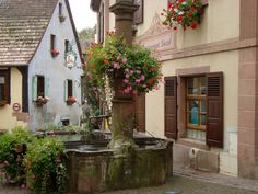 https://flic.kr/p/8KcBMm | Un village en Alsace