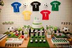 Mesa Festa com tema Futebol