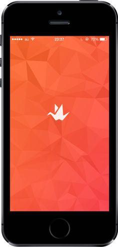 Origami #mobile #ui #design pinterest.com/alextcsung/